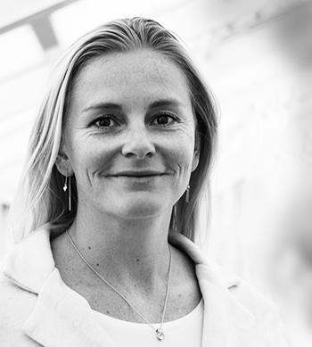 Louise Lillelund, kommunikationsdirektør i Sydbank
